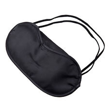 10 Pcs Eye Mask Shade Cover Blindfold Night Sleeping Black New
