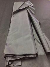 Tenture plafond MARIAGE tissu DOUBLURE polyester noir au mètre large 75 cm