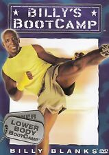 NEW Billy's BootCamp DVD Lower Body BOOT CAMP FITNESS BLANKS WORKOUT VIDEO