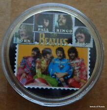 The Beatles 24KT GOLD MEMORABILIA COLLECTIBLE COIN  #32sas