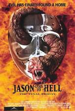 JASON GOES TO HELL: THE FINAL FRIDAY Movie POSTER 27x40 Kane Hodder John D.