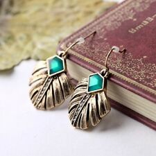 ! 1542 NiX New Fashion Valentines Day Gift Gold 18K Danglers Drop Resin Earrings