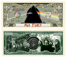 Pink Floyd Million Dollar Bill Collectible Fake Play Funny Money Novelty Note