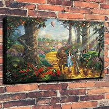 The Wizard of Oz Judy Garland Art HD Print Oil Painting on Canvas (Unframed)