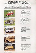 ARO Preisliste 1984 price list 10 24 VT Familia Auto PKWs Rumänien Europa Allrad