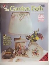 The Garden Path Decorative Tole Painting Book by Gigi Smith Burns