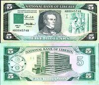 "2016 Rare:Liberia L$ 20 Replacement /""ZZ/"" series banknote issue"
