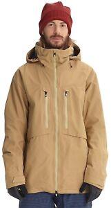 Burton AK Hover Jacket, Size L, Kelp. Worn Once!! Goretex Pro 3L