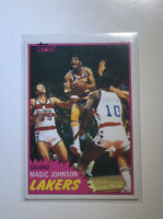 1981-82 Topps Magic Johnson #21 Lakers First Individual Rookie Card