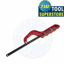 "Amtech 12"" Mini Hacksaw with Bi-Metal Blade 24TPI Metal Wood Cutting Light Saw"
