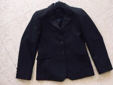 Beaufort Competition Hunt Coat *Child'S 12 *Brown Pinstripe Vgc*