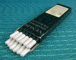 Vintage VENUS 3800 Drawing Sketching Pencils 2B Soft Unused Unsharpened NOS (12)
