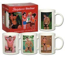 Striptease Becher Mann Strip Kaffeetasse Partyspass Junggesellenabschied Gag