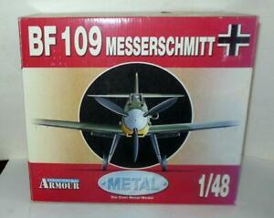 ARMOUR BF 109 MESSERSCHMITT LUFTWAFFE  A  GALLAND WW II ACES  1/48 SCALE 98010