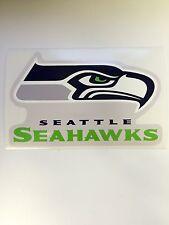 "NFL Seattle Seahawks Vinyl Bumper Sticker Decal For Car Wall Cornhole  5""x3"""