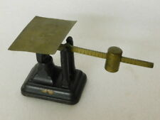 antique FAIRBANKS Scale with Cast Iron Base and Brass Arm & Weight