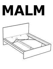 IKEA MALM High Bed Frame Replacement parts Hardwares for Bed Assembly NEW
