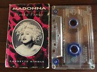 MADONNA...HANKY PANKY - - Rare 1990 Australian Cassette SINGLE (Tape)