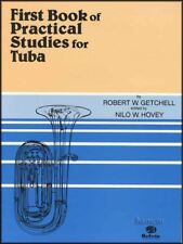 First Book of Practical Studies for Tuba Music Book 1st