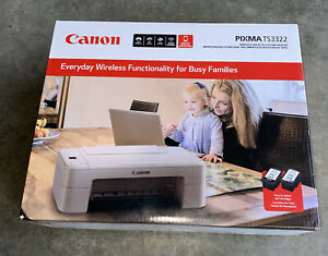 Canon PIXMA TS3322 Wireless Inkjet All-In-One Printer