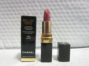 CHANEL ROUGE COCO ULTRA HYDRATING LIP COLOUR 436 MAGGY 0.12 OZ NWB