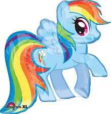 "My Little Pony Rainbow Dash 28"" Foil Balloon Birthday Decorations Party Supplies"