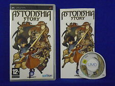 psp ASTONISHIA STORY An RPG Action Adventure Playstation PAL ENGLISH UK Version