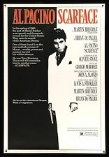SCARFACE * 40x60 CineMasterpieces ORIGINAL MOVIE POSTER 1983 MOBSTER GANGSTER