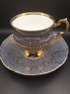 Vintage Tea Cup And Saucer England Elizabethan