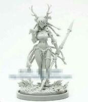 Wargames Druid Model for Kingdom Death Game Resin Figure Recast 30 mm