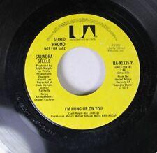 Pop Promo 45 Sundra Steele - I'M Hung Up On You / I'M Hung Up On You On United A
