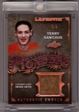 TERRY SAWCHUK 16/17 Leaf Ultimate Pioneers Jersey Swatch Patch SP #d 6/9 RARE
