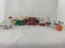Disney 101 Dalmatians Christmas Figurines Set