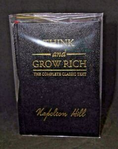 Think and Grow Rich by Napoleon Hill NEW Deluxe Leather, Perfect Gift