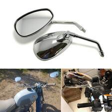 Chrome Motorcycle Rearview Mirrors 10mm for Triumph Thunderbird Suzuki GS1100G