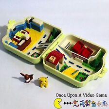 1997 TOMY Nintendo Pokemon Center Polly Pocket Style Playset w/ Pikachu & Evee