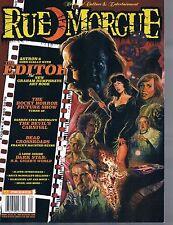 Rue Morgue #159 Sept 2015 The Editor Rocky Horror Devil's Carnival H.R. Giger