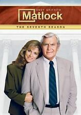 Matlock Season 7 DVD The Complete Seventh Series Seven Andy Griffith