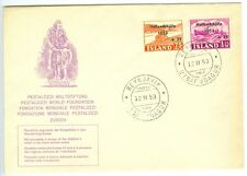 ICELAND: First day cover 12/11-1953. (2)