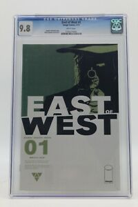 East of West (2013) #1 Nick Dragotta Cover A CGC 9.8 Blue Lbl White Pgs 1st Prt