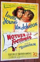 Mother Is A Freshman Original Poster One Sheet A Style?
