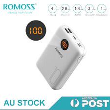 ROMOSS Mini Power Bank 10000mAh 2*USB 2.1A Portable External Fast Phone Charger