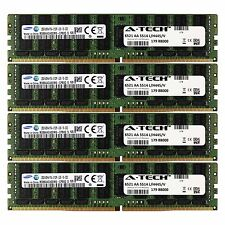 DDR4 2133MHz Samsung 128GB Kit 4x 32GB HP Cloudline CL2100 753225-B21 Memory RAM