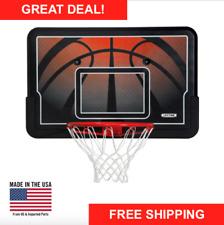 Basketball Hoop Wall Mount 44 Outdoor Sports Game Rim & Backboard Combo