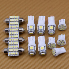 13pcs Car LED Lights Interior Package T10 Festoon Map Dome License Plate