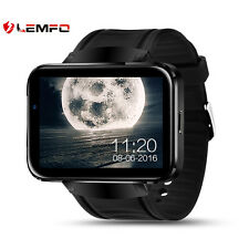 Lemfo LEM4 4GB Bluetooth Wireless 3G SIM GPS Smart Watch Phone Wrist For Android
