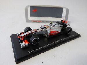 Vodafone McLaren Mercedes #4 Winner US GP 2012 - 1:43 Spark Voiture Car S3048