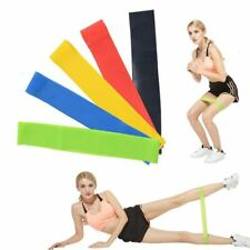 5 Colors Yoga Resistance Bands Rubber Band Workout Home Gym Fitness loops Latex