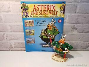 Plastoy Asterix und seine Welt - Der Rote Korsar Figur + Heft #38026#
