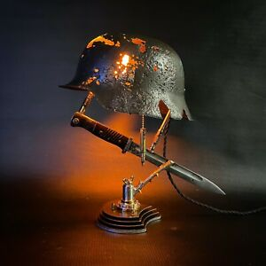Battle lamp Sculpture